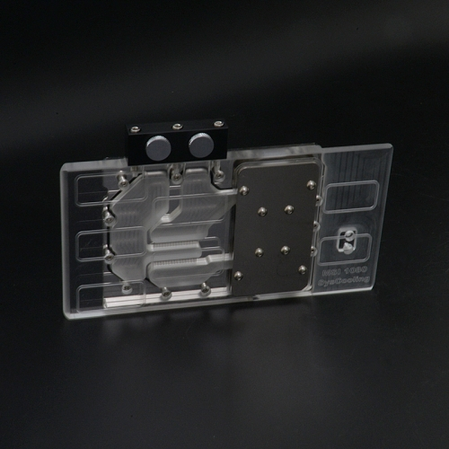 Syscooling 1080 full coverage gpu water block for computer vga