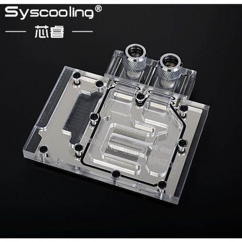 Syscooling Specially Made for PCB AS--U-S GTX960-DC2OC-4GD5-SI/LOL Full Coverage water block