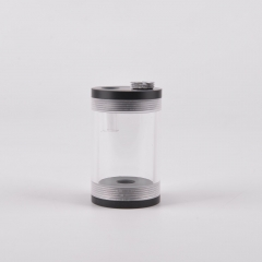 Syscooling New design ART10 65mm*50mm Cylindrical Transparent Acrylic Water Tank