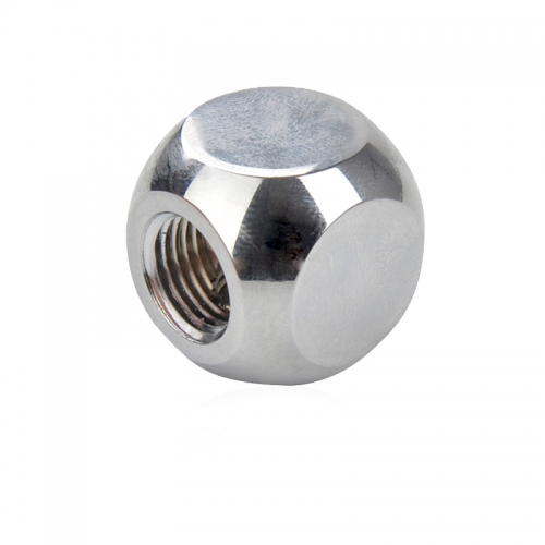 Syscooling water-cooled computer split hard pipe fitting set spherical tee joint g1/4 threaded black and silver